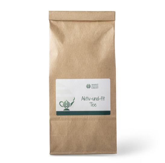 Unser Aktiv-und-fit-Tee enthält u.a. Löwenzahnkraut mit Wurzel.